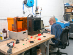 3D Printing and laser engraving workstation